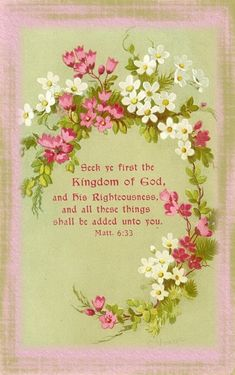 Little Birdie Blessings : Scripture Thursday ~ The Source of Your Money