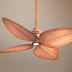 """52"""" Minka Aire Indoor Outdoor Beige Gauguin Ceiling Fan"""