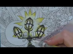As requested by my viewers: how I use Derwent Inktense pencils and a water brush to colour in the adult colouring book The Magical City. In this long, compre...