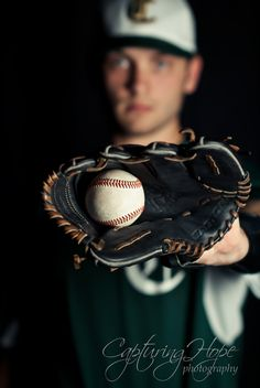 Senior Pictures With Baseball Theme | ... where this senior was able to represent his passion in life: Baseball