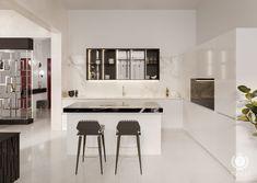 tolicci, luxury modern kitchen, italian design, interior design, luxusna moderna kuchyna, taliansky dizajn, navrh interieru Interior Design, Luxury, Modern, Kitchen, Table, Furniture, Home Decor, Nest Design, Trendy Tree