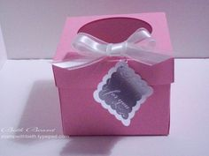 How To Make an Individual Cupcake Box