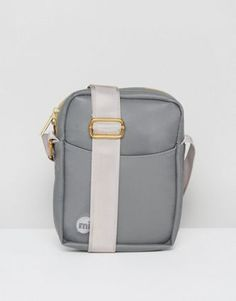 Mi-Pac Rubber Flight Bag In Grey