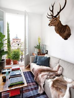 Instant Cozification:  Put a Furry Throw On It