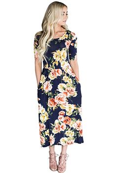 e3f74a8fea0 This floral boho dress is design with short sleeves
