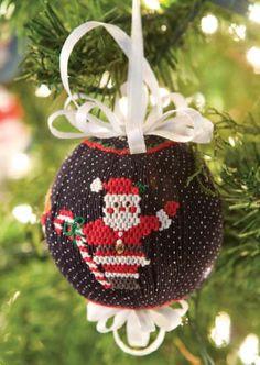 Smocked Christmas Ornament Tutorial
