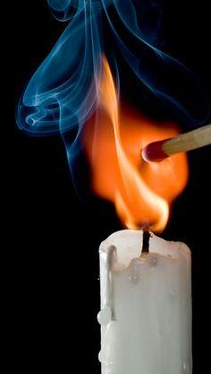 by Leo Druker.by Leo Druker Fire Photography, Creative Photography, Foto Still, Foto Gif, Fire Image, Smoke Art, Fire Art, Light My Fire, Purple Aesthetic