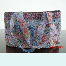 Cute And Unique Handbags Material Indonesian Traditional Cloth Batik Keris Accessories Colorful To Be Sewn One By Handmade On Almost