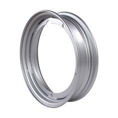 "Prima Tubeless Rim (10"", Silver); Large Frame Vespa, Stella"