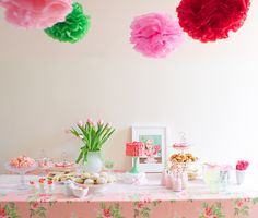 A fanciful tea party