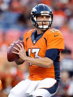 New Denver Broncos starting QB Trevor Siemian: Who is this guy? Denver Broncos Football, Go Broncos, Broncos Fans, Pro Football Teams, Nfl Jerseys, Understanding Football, Broncos Players, Sports App, Football Conference