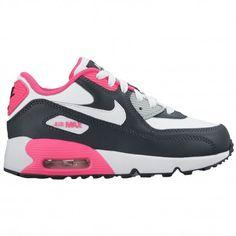 sports shoes 4b2b2 45fdd  52.99 white and pink nike air max 90,Nike Air Max 90 - Girls Preschool