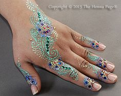 The Henna Page - White Henna: what it is and how to use it (from ...