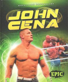 Engaging images accompany information about John Cena. The combination of high-interest subject matter and light text is intended for students in grades 2 through 7--