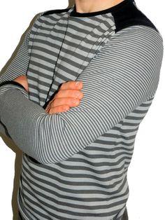 Föhr Schnittmuster Pullover Shirt Herren Mann farbenmix