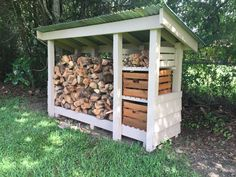 I got some great ideas from Pinterest and added my own touches using 4x4's that I had laying around and some tin that a farmer friend gave me. The boxes contain pine cones and lighter wood. Fun project.