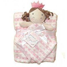 Rock-a-Bye: Deken met prinsessen-knuffeldoekje Baby Gifts, Teddy Bear, Toys, Animals, Activity Toys, Animales, Animaux, Clearance Toys, Teddy Bears