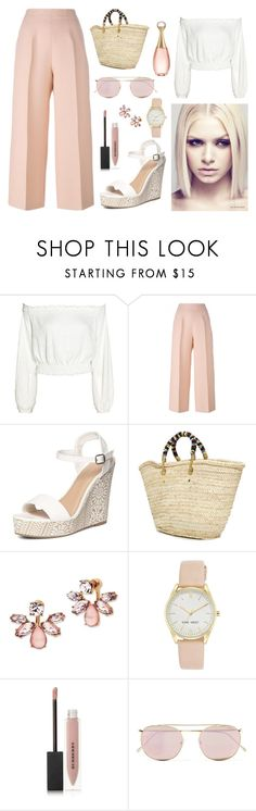 """""""Beach-party"""" by linus-isotalus on Polyvore featuring Fendi, Dorothy Perkins, Giselle, Marchesa, Nine West, Burberry, Illesteva, Christian Dior and Asplund"""