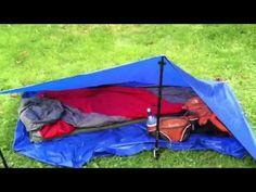 Ultralight tarp tent