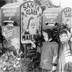 Mailing letters to Santa