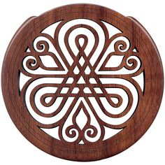 """The Lute Hole Company 4"""" Soundhole Covers for Feedback Control in Mapl"""