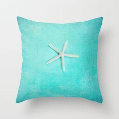 starfish-2+Throw+Pillow+by+Sylvia+Cook+Photography+-+$20.00