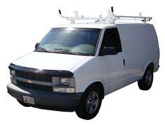 Aluminum Ladder Racks for Full Size Vans, Minivans / Transit Connect / Pickup Truck fiberglass Caps, SUVs - Never Rust!