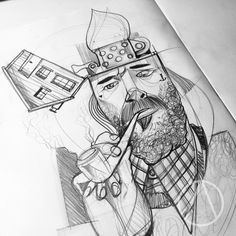 #fisherman #balikci #tattoo #sketch #drawing #ink #illustration #graphic #dövme #Istanbul #Berlin #london
