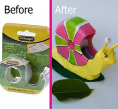 You droped your tape dispenser and broke it? don't throw it away, recycle it!