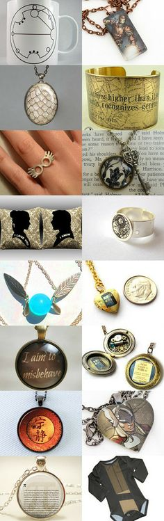 Sneaky Geeky by Deborah Connor on Etsy--Pinned with TreasuryPin.com  Oh so many!   --Shared by WhatnotGems.Etsy.com