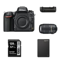 Nikon D750 FX-Format DSLR Camera with 55-300mm Lens Deluxe Bundle *** Read more reviews of the product by visiting the link on the image.