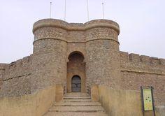 Castillo de Chinchilla, Albacete.