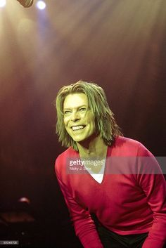 ASTORIA Photo of David BOWIE, performing live onstage on 'hours...' promotional tour