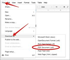 A Quick Tip to Create PDFs in Your Google Drive
