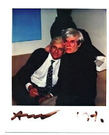 View Untitled David Hockney and Andy Warhol by Andy Warhol on artnet. Browse upcoming and past auction lots by Andy Warhol. Andy Warhol, Polaroid Pictures, Polaroids, Pop Art Movement, David Hockney, Jean Michel Basquiat, Famous Artists, Artist Art, American Artists