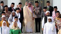 Presiden Jokowi Fasilitas Ulama Bertemu dengan Raja Salman      Posisi Raja Salman bin Abdulaziz Al...