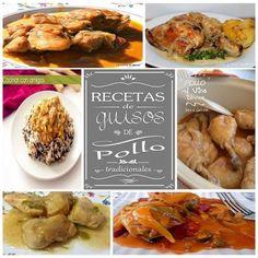 Recetas de guisos de pollo tradicionales