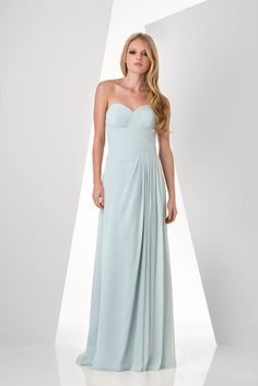 Bari Jay Bridesmaids - 873--I don't want strapless but this is pretty