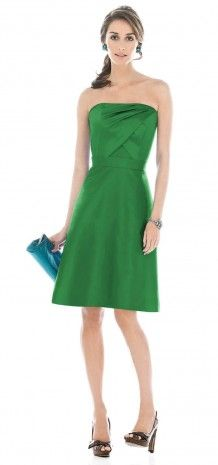 What green where you thinking darker than this? Bridesmaid Dress-green$59.99