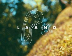 Identity design for Alan Nowell's landscape architecture firm called Laand. ~Passport Design Bureau | #branding #logo