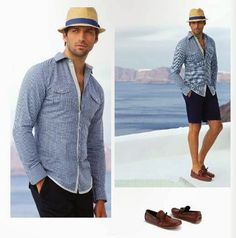 Ropa de verano 2015 para hombre. Andre Badi Primavera Verano 2015