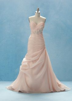 Perfection - from the Disney bridal range #pink #disney #bridal