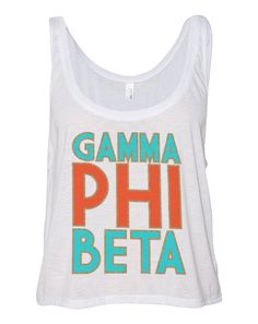 Gamma Phi Beta www.adamblockdesign.com