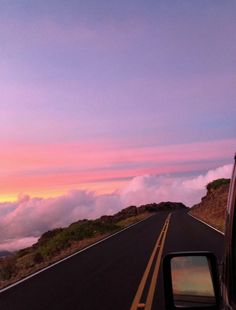 Great Tagged with Dream aesthetic art car clouds moutain pink road sky wallpaper