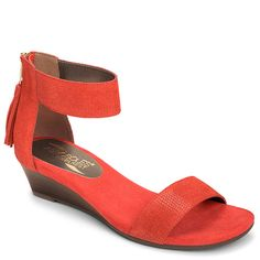 b09a1b757160 Yetroactive Ankle Strap Wedge Sandal