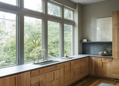 Workstead Boerum Hill Townhouse | Remodelista  This is a new top contener for countertops/backsplash.