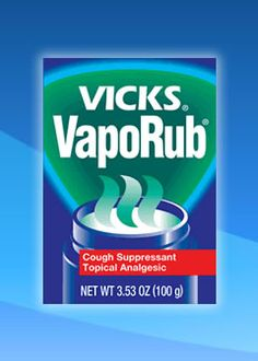 1000 images about vicks does all on pinterest vicks for What does putting vicks on your feet do