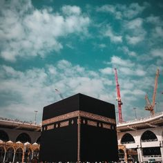 Image may contain: cloud, sky and outdoor Mecca Islam, Mecca Kaaba, Muslim Quotes, Allah Quotes, Mekkah, Beautiful Islamic Quotes, Islamic Wallpaper, Islamic World, Gif Pictures
