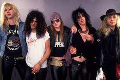 A photo of Guns N' Roses by Paul Natkin | MTV