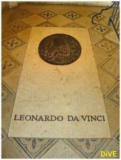 famous gravesites | Leonardo Da Vinci